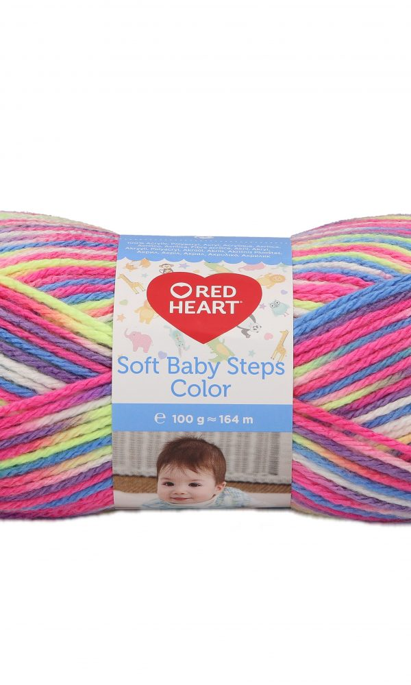 Soft Baby Steps Color fonal
