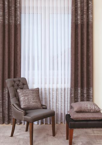 lakástextil és függöny kompozíció