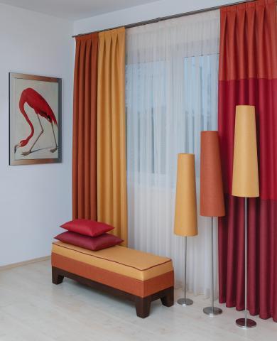 miller lakástextil és függöny kompozíció
