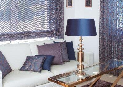 patina lakástextil és függöny kompozíció
