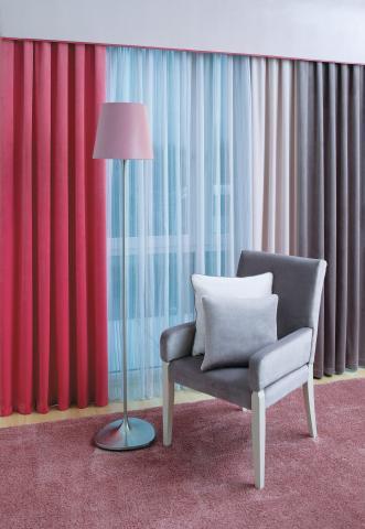 savaria lakástextil és függöny kompozíció