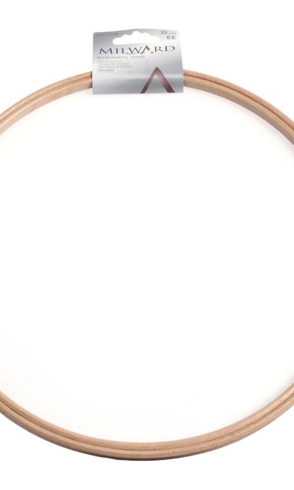 Milward hímzőráma, fa+sárgaréz
