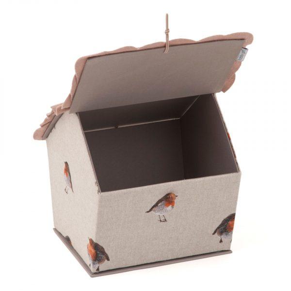 Varródoboz madárház vörösbegy